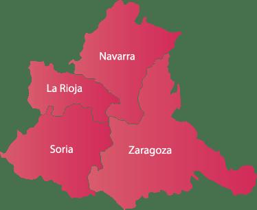 Grupo Villa Mapa Región